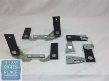 1968-72 Chevelle Plated Hanger Set For Cars With Factory Tips