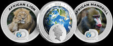 2016 Niue - two coin set of silver proofs - Discovery Channel - AFRICA