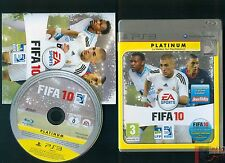 FIFA 10 JEU CONSOLE PS3 PLAYSTATION 3 COMPLET BE FR