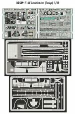 Eduard 1/32 F-14A Tomcat interior for Tamiya kit # 32529