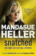 Mandasue Heller Snatched Very Good Book