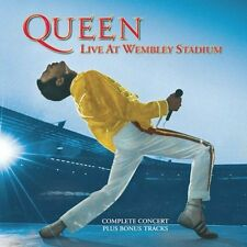 Live At Wembley Stadium - Queen (2003, CD NEUF) Remastered2 DISC SET