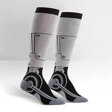 Sock It To Me Women's Funky Knee High Socks - Toe-tal Recall