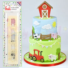 FMM Sugarcraft - Cute Farm Animals Cutters - Cake decoration sugarpaste fondant