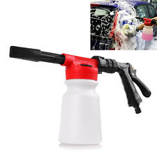 New 900ML Portable Car Truck Cleaner Wash Pressure Water Snow Foam Sprayer Gun
