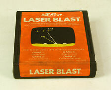 Atari 2600 Game Laser Blast By Activision Tested & Working
