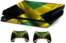 Jamaica Sticker/Skin PS4 Playstation 4 Console & Remote controller,ps4sk5