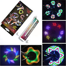 32 RGB LED 20 Patterns Wheel Spoke Lights for Cycling Bikes Bicycles Outdoor Hot