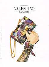 PUBLICITE ADVERTISING 114  2014   VALENTINO collection sac CAMUBUTTERFLY