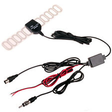 IEC Car Head Unit Analog Digital TV DVBT ATSC Antenna  Radio FM and Amplifier