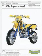Prospetto HUSABERG FS SUPERMOTARD 400e 650e 9/02 (D) Scheda tecnica brochure