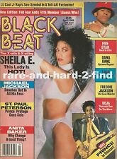 BLACK BEAT April 1988 SHEILA E PRINCE Rare Vintage Magazine