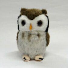 Scops Owl Plush cute & realistic
