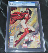 UNCANNY AVENGERS #2 CGC Graded NM+ 9.6 Milo Manara VARIANT Sexy SCARLET WITCH