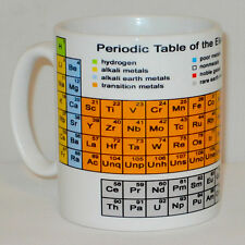 Periodic Table Of The Elements Mug Can Personalise Science Student Teacher Gift