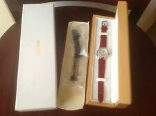 techno marine Techno lady watch mother of Pearl Face/ Diamond bezel/ rubies