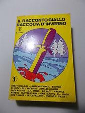RACCONTO GIALLO 1 - RACCOLTA D'INVERNO  - EDITORIALE CORNO 1980