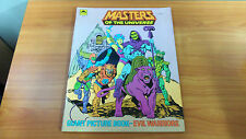 Rare Vintage 1984 Masters of the Universe Evil Warriors Giant Picture Book