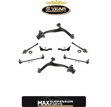 Lower Control Arms Inner and Outer Tie Rods 8Pc Kit for Infiniti FX35 FX45 03-08