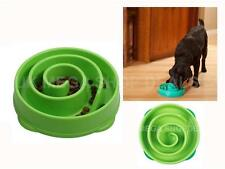 Slo Bowl Pet Fun Feeder Slow Feed Interactive Bloat Stop Dog Cat Feed Dish