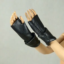 1/6 Scale Phicen, Hot Toys, Kumik, Hot Plus - Female Black Leather Hand Gloves