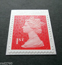 NEW 2016 1st Class M16L + MTIL MACHIN SINGLE STAMP from Booklet