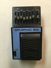 Ibanez GEL Graphic EQ 7-Band Equalizer Rare Vintage Guitar Pedal MIJ Japan