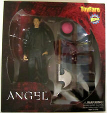 "BUFFY THE VAMPIRE SLAYER ""PARTING GIFTS"" WESLEY 6"" FIGURE ANGEL...NEW ON CARD"