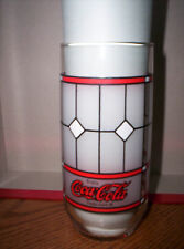 Frosted Coca-Cola Soda Collectible Drinking Glass - Coke