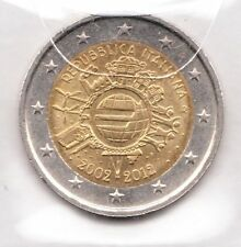 G083 Moneta Coin ITALIA: 2 euro 2012 Commemorativo Unione Monetaria Europea