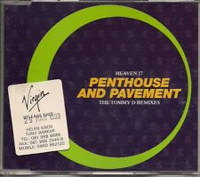 Heaven 17 Penthouse & Pavement UK CD Single