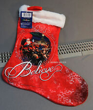 LIONEL THE POLAR EXPRESS SANTA SLEIGH CHRISTMAS STOCKING train holiday 9-33080