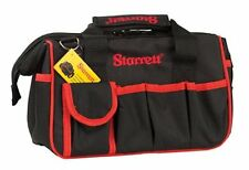 STARRETT STRBGS SMALL TOOL BAG 12 EXTERNAL POCKETS 6 INTERNAL 300 x 170 x 220