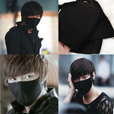 Unisex Boy Girl Cycling Anti-Dust Cotton Mouth Face Mask Respirator Black Hot
