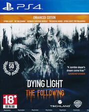 Dying Light The Following (Enhanced Edition) PS4 Game Brand New Sealed