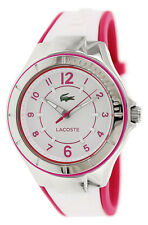 Lacoste Acapulco Steel Womens Fashion Strap Watch White & Pink Quartz 2000802