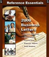 2000 Business Letters CD - Write Your Business Letters
