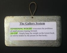 Picture Weight - The Gallery System - Picture Hanging Systems - FREE Delivery