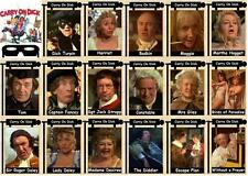 Carry on Dick movie trading cards