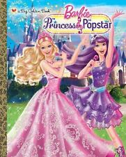 Princess and the Popstar Big Golden Book (Barbie) (a Big Golden Book)-ExLibrary