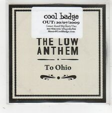 (FW523) The Low Anthem, To Ohio - 2009 DJ CD
