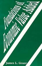 Foundations of Economic Value Added, Grant, James, Good Condition, Book
