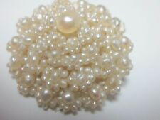 Rare Antique Victorian Seed Pearl Pin