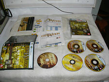Sid Meier's Civilization IV: Gold Edition (PC, 2007)