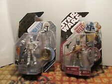 Boba Fett Bundle- Animated Debut and Conceptual McQuarrie Galactic Hunt Ed. 30th