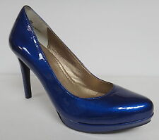 """ME TOO """"HOLLY2"""" COBALT BLUE CLASSIC PUMPS HEELS SLIP ON SHOES SIZE 6M"""