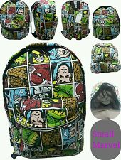 SMALL KIDS MARVEL COMICS ALL OVER PRINT BOYS AND GIRLS BACKPACK/RUCKSACK