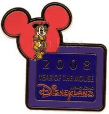 DISNEY PIN~HONG KONG~2008~YEAR OF THE MOUSE~MICKEY~MINT
