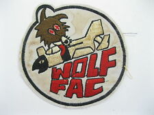 PATCH - WOLF FAC