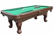 Medal Sports Springdale 7.5 ft. Billiard Pool Table with Cue Set & Accessor